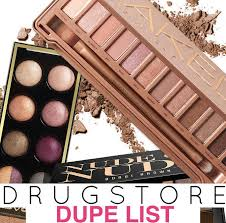 dupes for high end makeup
