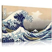 great wave off kanagawa canvas art