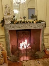 how big should a fireplace screen be