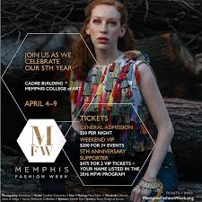 memphis fashion week model casting and