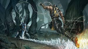 mortal kombat sub zero scorpion