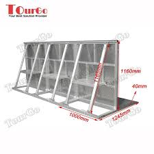 Tourgo Aluminum Cheap Event Crowd Control Fence Concert Crowd Control Concert Barricade For Sale View Crowd Co Concert Crowd Crowd Control Event Solutions