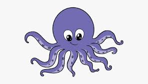 Cartoon Octopus Pictures - Octopus Drawing, HD Png Download ...
