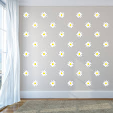 Rosalind Wheeler Daisies Wall Decal Wayfair