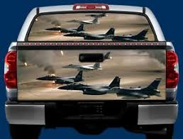 Military Aircraft Tailgate Or Window Truck Tailgate Vinyl Graphic Decal Wrap Ebay