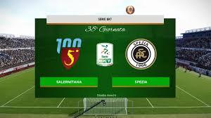 Pes 2020 Serie B • Salernitana vs Spezia • 38° Giornata - YouTube