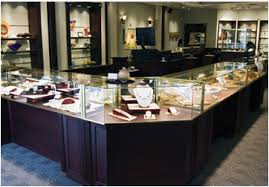 display cases trophy museum jewelry