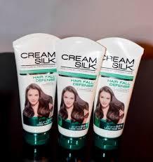 cream silk hair fall defense