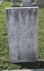 """Abigail Phillips """"Abby"""" Phillips Cole (1810-1846) - Find A Grave ..."""
