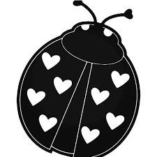 Lady Bug Love Vinyl Decal Sticker
