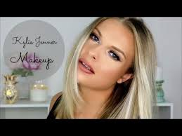 kylie jenner makeup tutorial for blonde
