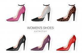 Woman Shoes Pumps Set. | Pump shoes, Pumps, Shoes