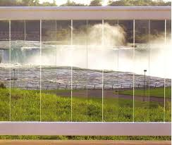 Glass Panel Railing With Vinyl At Austintown Fence Company Vinyl Fence Fence Glass Panels