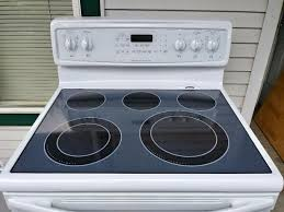 frigidaire stove glass top with