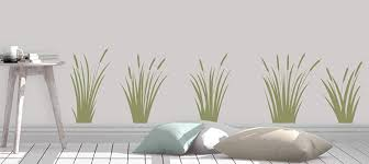 Amazon Com Cattails Decal Marsh Grass Decal Nature Decor Cattails Wall Decal Home Decor Made In Usa Big Size Home Kitchen