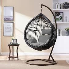 single swing cushion hanging basket