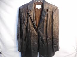 worthington lambskin leather coat