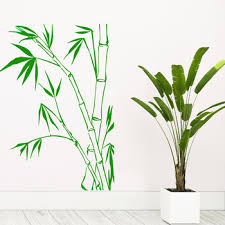 Pretty Wall Stickers Bamboo Modern Wall Stickers For Living Room Vinyl Mural Bedroom Art Decals Buy At The Price Of 1 18 In Aliexpress Com Imall Com