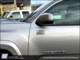 Bullet V1 American Flag Decal Toyota 4runner Tacoma Fj Sequoia Tun Importequipment