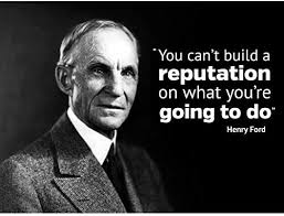 Home Garden Henry Ford Quote Can Not Build Reputation What Going To Do Vinyl Wall Decal Decor Decals Stickers Vinyl Art