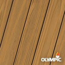 Olympic Maximum 1 Gal Cedar Natural Tone Semi Transparent Exterior Stain And Sealant In One Low Voc 79551a 01 The Home Depot