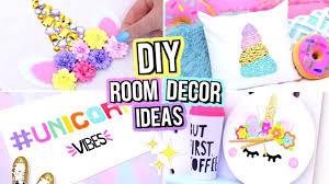 Diy Unicorn Room Decor For Teenagers Cute Diy Room Decor Ideas Youtube