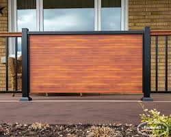 Aluminum Privacy Panels Products Fence All Ottawa On