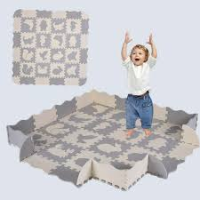 Baby Baby Gyms Play Mats Kids Baby Extra Thick Foam Large With Gate Fence Crawling Play Mat Non Toxic Eo Executiveoptical Com