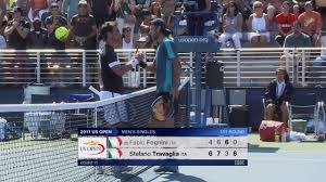 US Open - Fabio Fognini bows out against Stefano Travaglia - Tennis video -  Eurosport