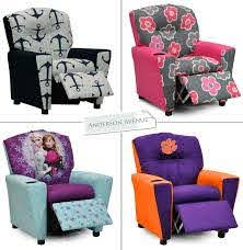 Kids Recliners In Over 75 Patterns Kids Recliners Baby Recliner Kids Chairs