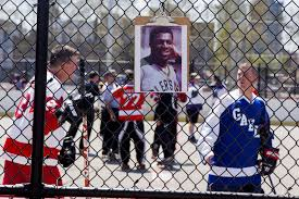 Tribute For A Roller Hockey Warrior Who Broke The Color Barrier The New York Times