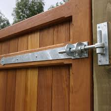 Adjustable Hook And Band Hinges Entrance Side Gate Fittings Tate Fencing