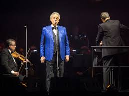 Easter: Andrea Bocelli to perform ...