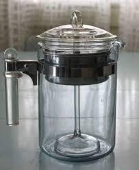 glass coffee percolators going old