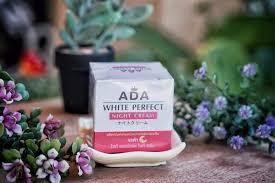 ADA WHITE Perfect - Night cream - Reviews | Facebook