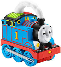 Amazon Com Thomas Friends Storytime Thomas Interactive Push Along Train With Lights Music And Stories For Toddlers And Preschool Kids Ages 2 Years And Older Toys Games