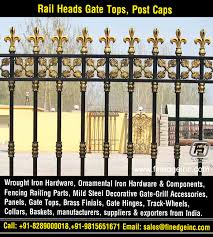 Wrought Iron Fence Gate Hardware Panels Manufacturers Exporters Suppliers India Finedge Inc