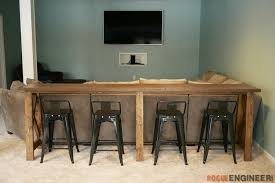 bar top console table rogue engineer