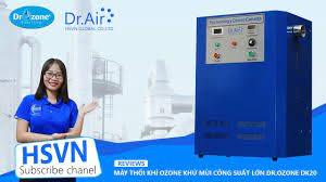 Máy khử mùi ozone công nghiệp, khử trùng công nghiệp, xử lý mùi công nghiệp  - YouTube