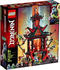 LEGO Ninjago 71712 Le temple de la folie de l'Empire en 2020 ...