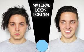 natural makeup tutorial for guys