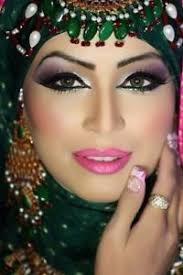 tradational arabic bridal makeup