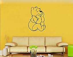 Buy Wall Decal Decor Winnie The Pooh Vinyl Wall Decals Classic Pooh Bear Piglet Balloon Wall Decals Nursery Baby Room Art Sticker White 46 Quot H X27 Quot W In Cheap Price On M Alibaba Com