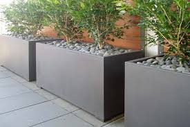 contemporary garden pots outdoor pots