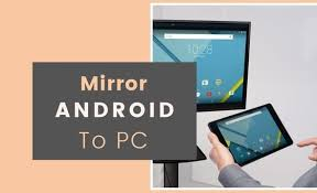 mirror android screen on pc via usb