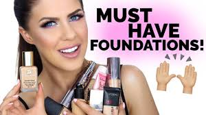 must have foundations beauty