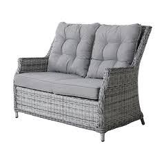 savoy garden 2 seater rattan sofa