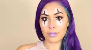 clown face paint makeup tutorial