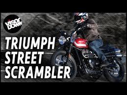 triumph street scrambler review road