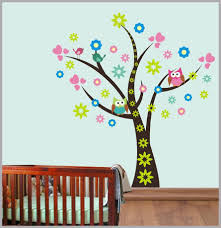 Large Tree Decal Tree Wall Decal Nursery Tree Decal Woodlands Nurserydecals4you